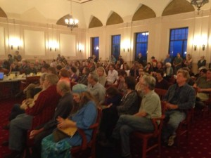 Standing room only. Great job, citizens.