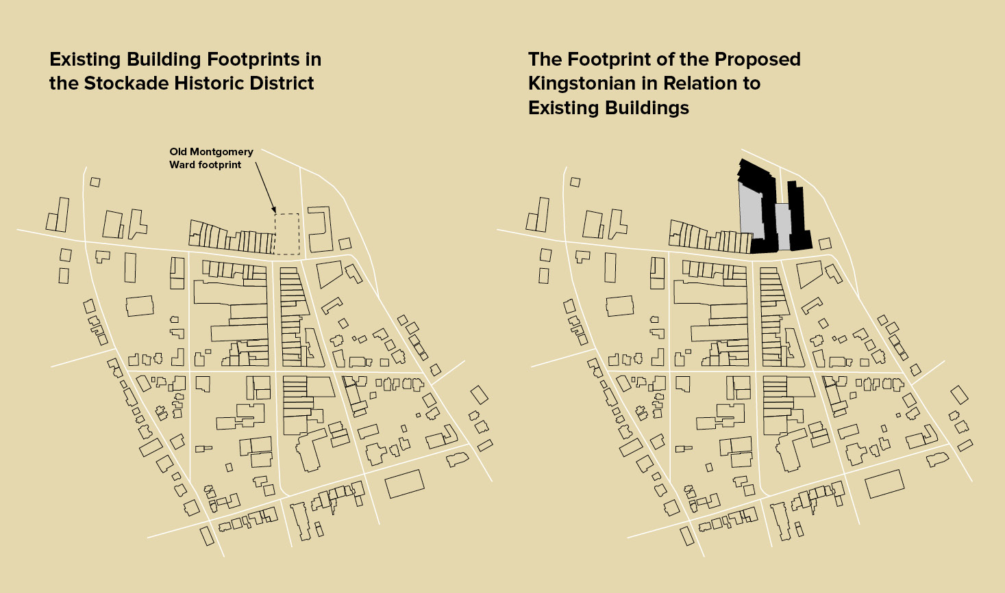 Stockade Historic District Building Footprints Comparison